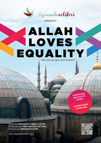 Poster Allah Loves Equality