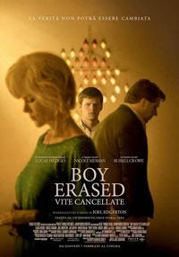 Locandina Boy erased.Vite cancellate