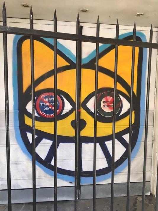 Street Art E Graffiti Parigi Monsieur Chat Rischia Fino Tre Mesi