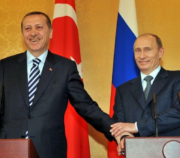 Storico faccia a faccia tra Putin ed Erdogan
