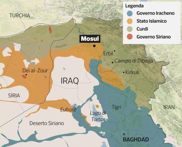 Guerra totale ai terroristi dell'Isis: offensiva per liberare Mosul